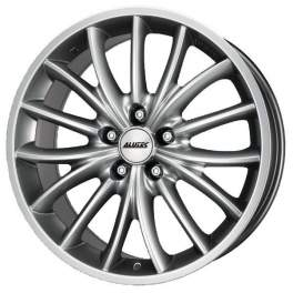 Alutec Toxic 7.5x16/5x114.3 ET38 D70.1 Sterling Silver