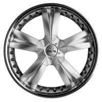 Antera 345 9,5x20 / 5x120 ET40 DIA 74,1 Silver