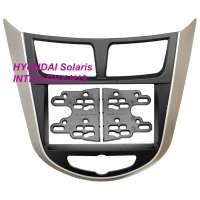 Переходная рамка HYUNDAI Solaris 2011+, 2-DIN (RHY-N19)