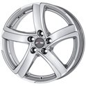Alutec Shark 7.5x17/5x110 ET38 D65.1 Sterling Silver