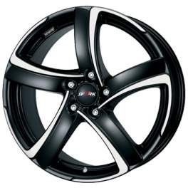 Alutec Shark 8x18/5x108 ET45 D70.1 Racing black polished