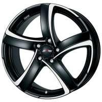 Alutec Shark 8x18/5x112 ET45 D70,1 Racing black front polished