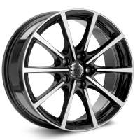 Borbet BL5 8x18/5x108 ET50 D72.5 Black glossy