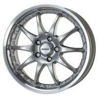 Alutec Kyro 7x15/4x108 ET15 D65.1 Sterling Silver