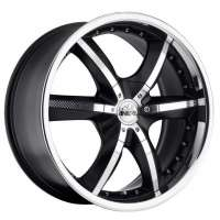 Antera 389 9.5x20/5x120 ET40 D74.1 Racing Black Lip Polished