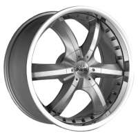 Antera 389 10x22 / 5x120 ET40 DIA74,1 Silver Matt Lip Polished