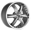 Antera 389 9.5x20/5x120 ET40 D74.1 Silver
