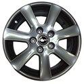 Borbet CA 7x16/5x112 ET38 D72.5 Metal Grey