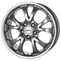 Alutec Nitro 7x16/5x110 ET38 D65.1 Sterling Silver