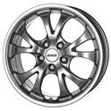 Alutec Nitro 7x16/5x112 ET38 D70.1 Sterling Silver