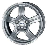 Alutec Helix 6.5x15/5x100 ET38 D63.3 Polar Silver