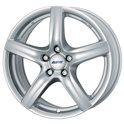 Alutec Grip 6.5x16/5x114.3 ET39 D70.1 Polar Silver