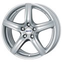 Alutec Grip 8x18/5x115 ET45 D70.2 Polar Silver