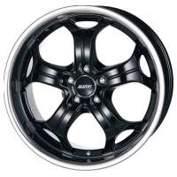 Alutec Boost 9x20/5x114.3 ET35 D76.1 Diamant black with stainless steel lip