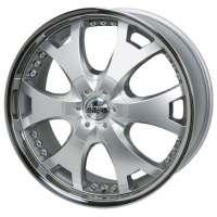 Antera 361 8.5x18/5x114.3 ET30 D75.1 Polar Silver