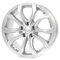 Alutec W10 7,5x17 / 5x112 ET37 DIA66,5 Polar Silver