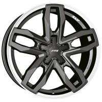ATS Temperament 8.5x18/5x112 ET50 D66.5 Blizzard Grey Lip Polished