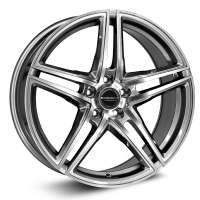 Borbet XRT 8x18/5x112 ET40 D72.5 mf graphite polished