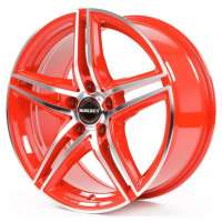 Borbet XRT 8x18/5x114.3 ET35 D72.5 Red Front Polished