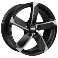 Fondmetal 7900 7.5x17/5x112 ET35 D57.1 Matt Black Polished