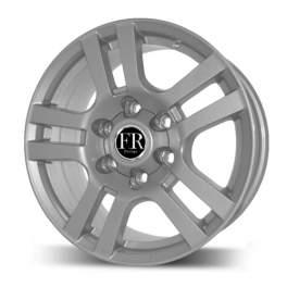 FR replica TY268 7.5x17/6x139.7 ET30 D106.2 Silver