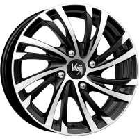 K&K Мейола 6x15 / 4x100 ET50 DIA60,1 Алмаз черный