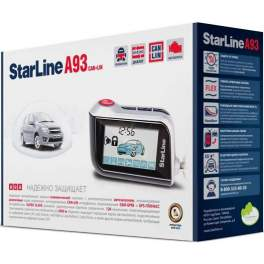 Сигнализация с автозапуском StarLine A93 CAN+LIN