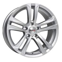 MAK Bimmer 7x16/5x120 ET20 D72.6 Silver