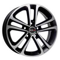 MAK Invidia 7x16/5x114.3 ET40 D76 Ice Black