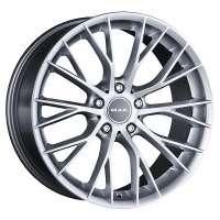 MAK Munchen 8.5x20/5x120 ET30 D72.6 Silver