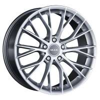 MAK Munchen 8x18 / 5x120 ET38 DIA72,6 Silver