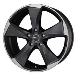 MAK Raptor5 8.5x20/5x114.3 ET50 D76 Ice Superdark