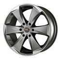 MAK Raptor6 7.5x17/6x139.7 ET0 D112 Graphite Mirror Face