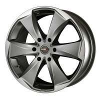 MAK Raptor6 7x16/6x139.7 ET46 D67.1 Graphite Mirror Face