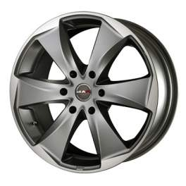 MAK Raptor6 9x20/6x114.3 ET30 D66.1 Graphite Mirror Face