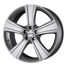 MAK Van5 6.5x16/5x130 ET50 D78.1 Silver