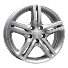 MAK Veloce Italia 7x17/5x100 ET48 D56.1 Silver