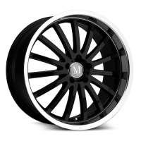 Mandrus Millenium 9.5x19/5x112 ET53 D66.6 Gloss Black